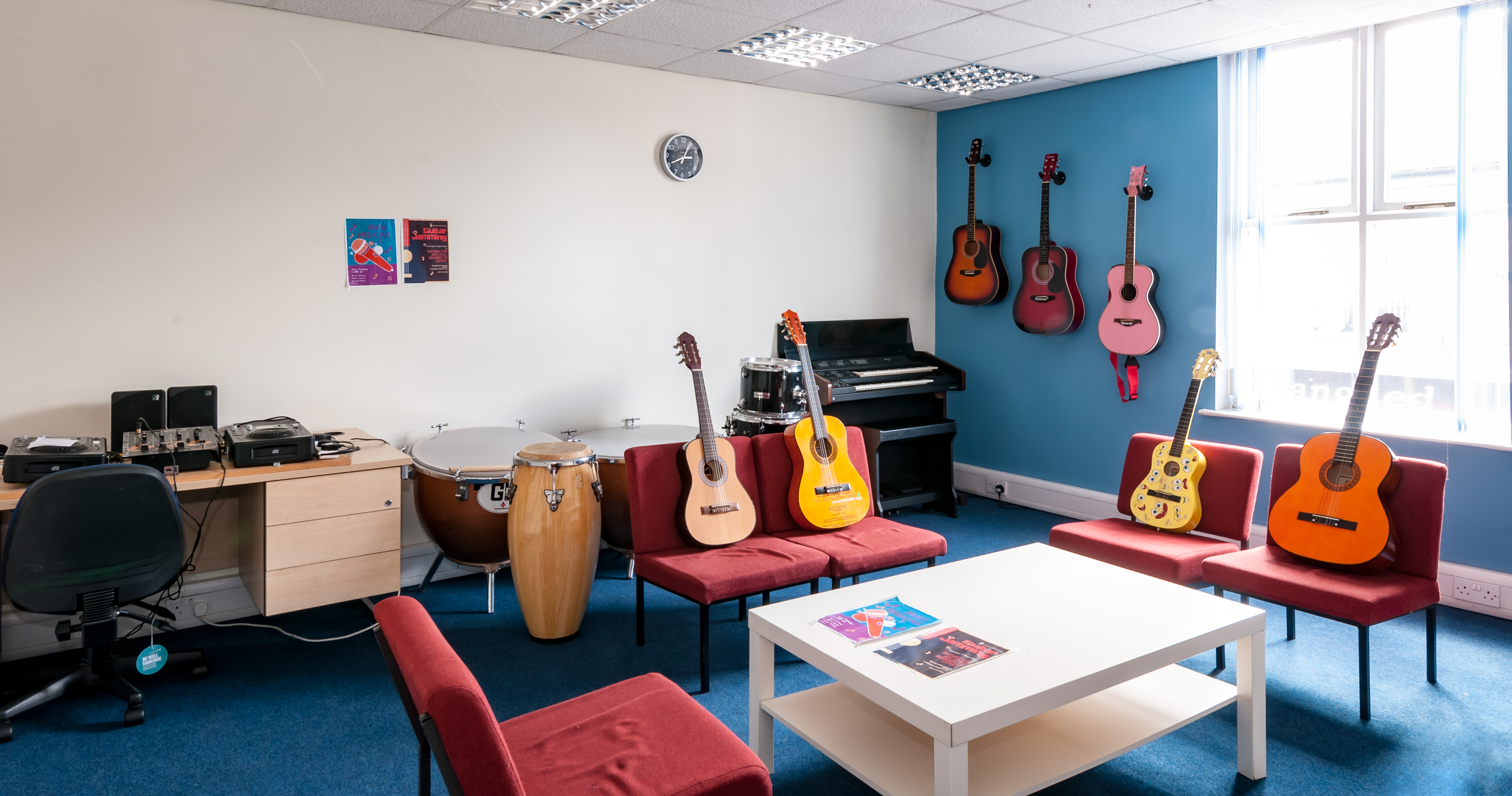 Music Room - Mental Health Centre