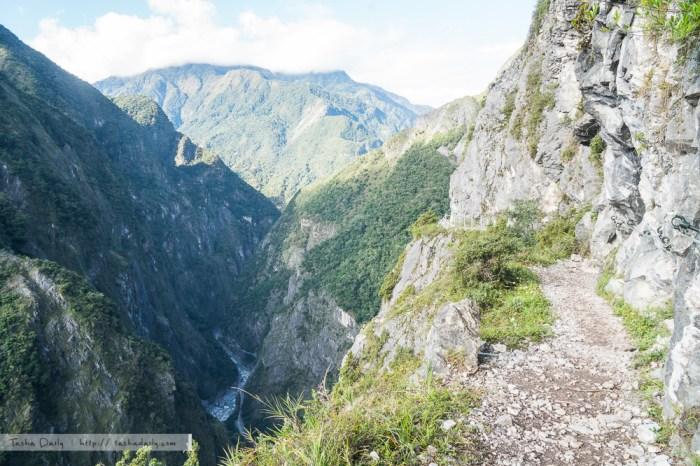 太魯閣旅遊︱踏上古道之徑.走進斷崖間的錐麓古道