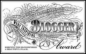 Versatile Blogger and Inspiring Blogger award (1/2)
