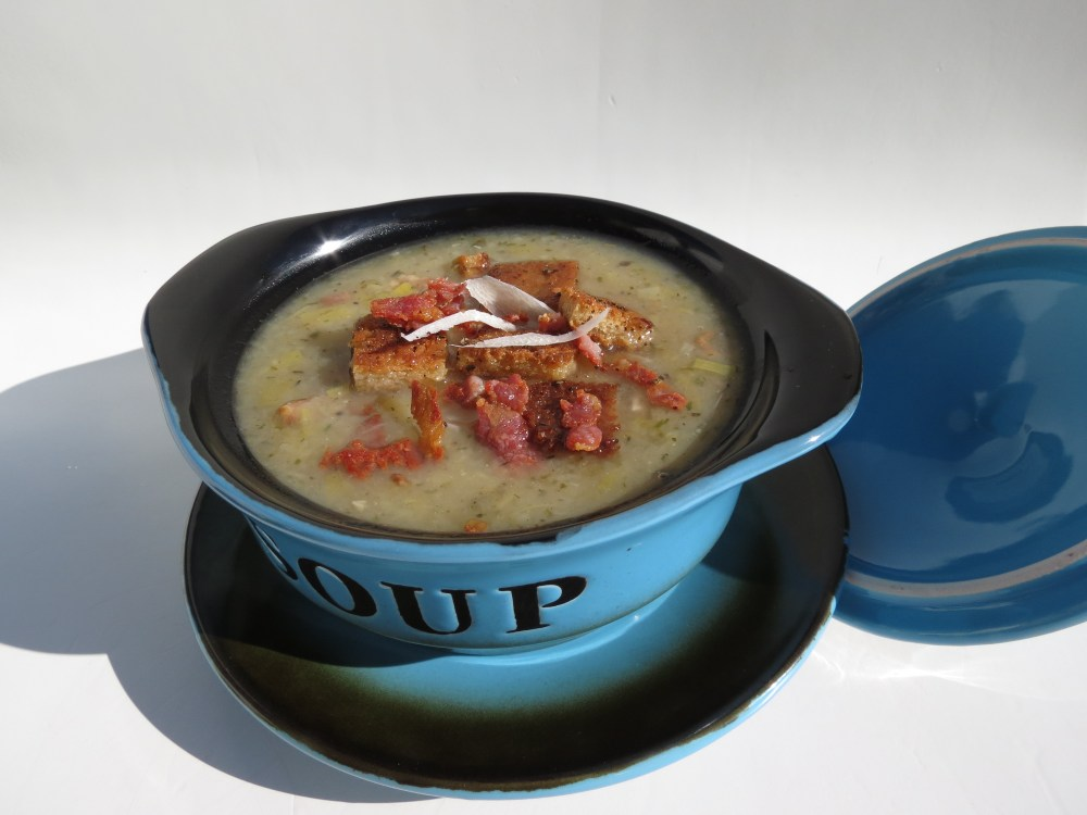 Bacon, Leek and Potato Soup (6/6)