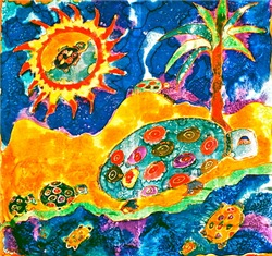 Turtle Island Tasha Paley Art