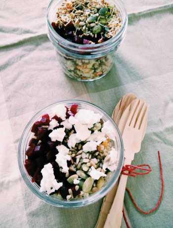 Lentil & Millet Summer Salad