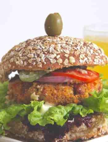 Millet & Bean Burger