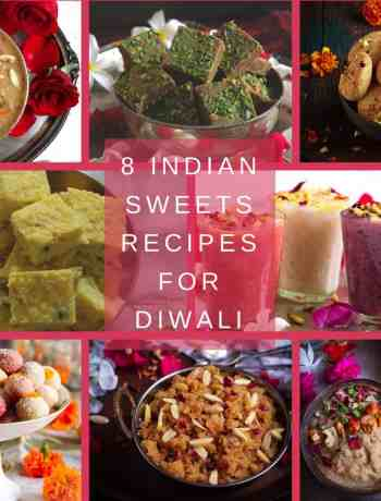 8 Indian Sweets Recipes For Diwali