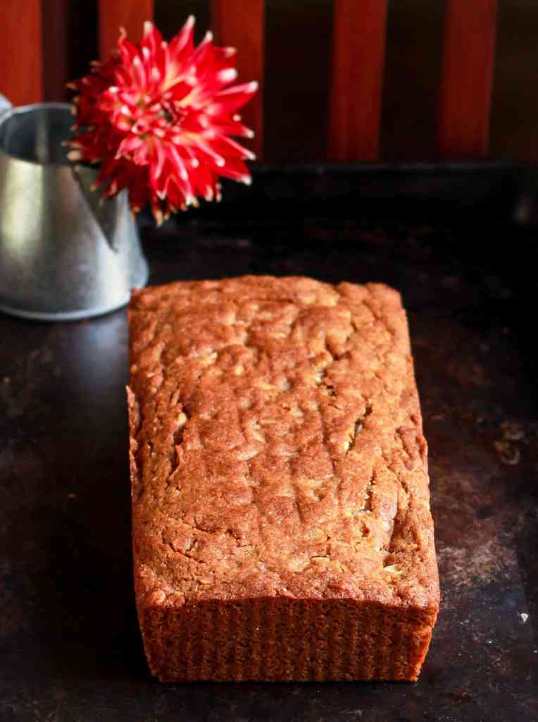 Vegan Coconut Tea Cake dairyfree wholegrain  healthy recipe