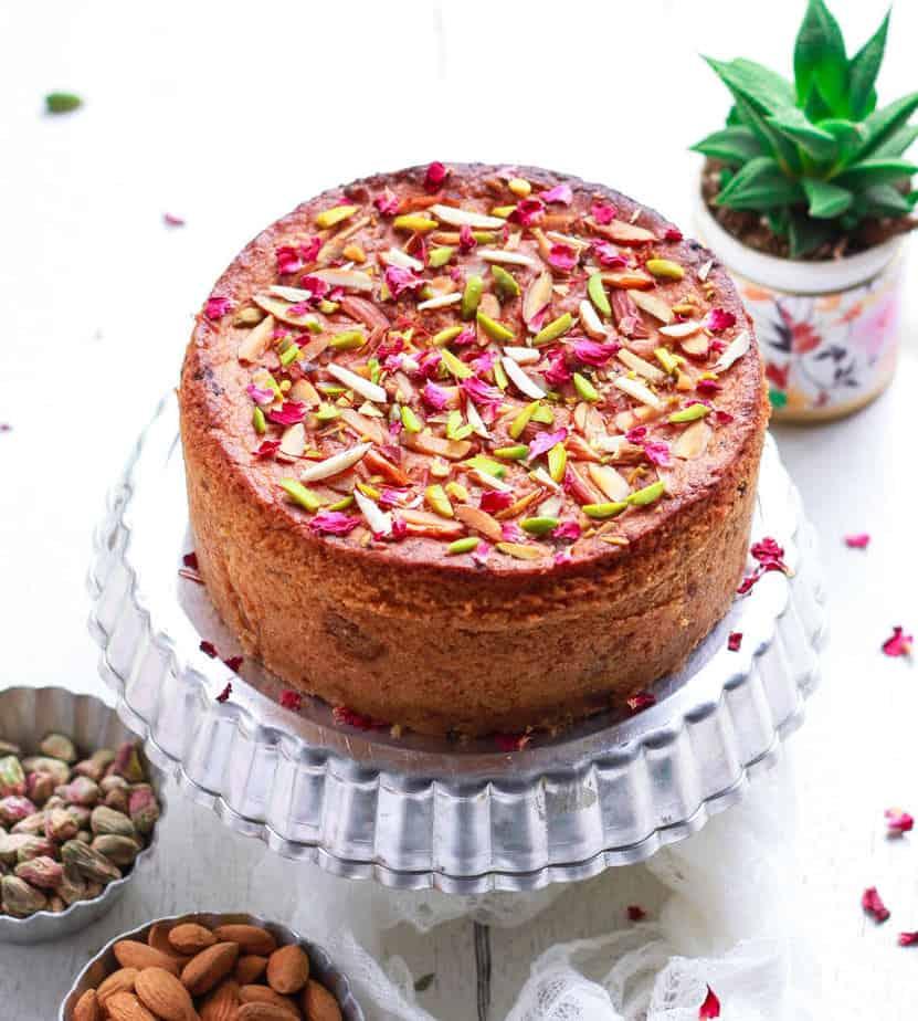 Mawa Cake | Parsi Mawa Cake | Easy Eggless Recipe