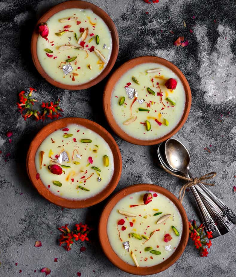 Phirni | Vegan Phirni Recipe | Indian Dessert