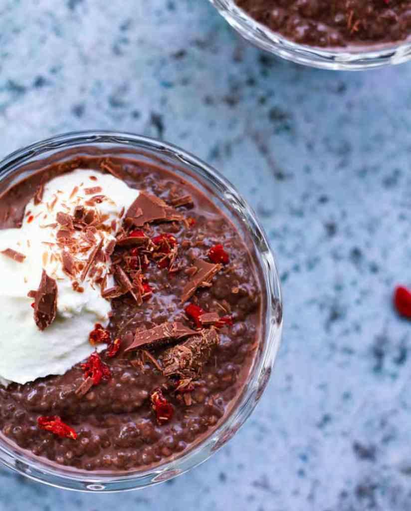 Chocolate Chia Pudding | Easy Healthy Vegan Recipe