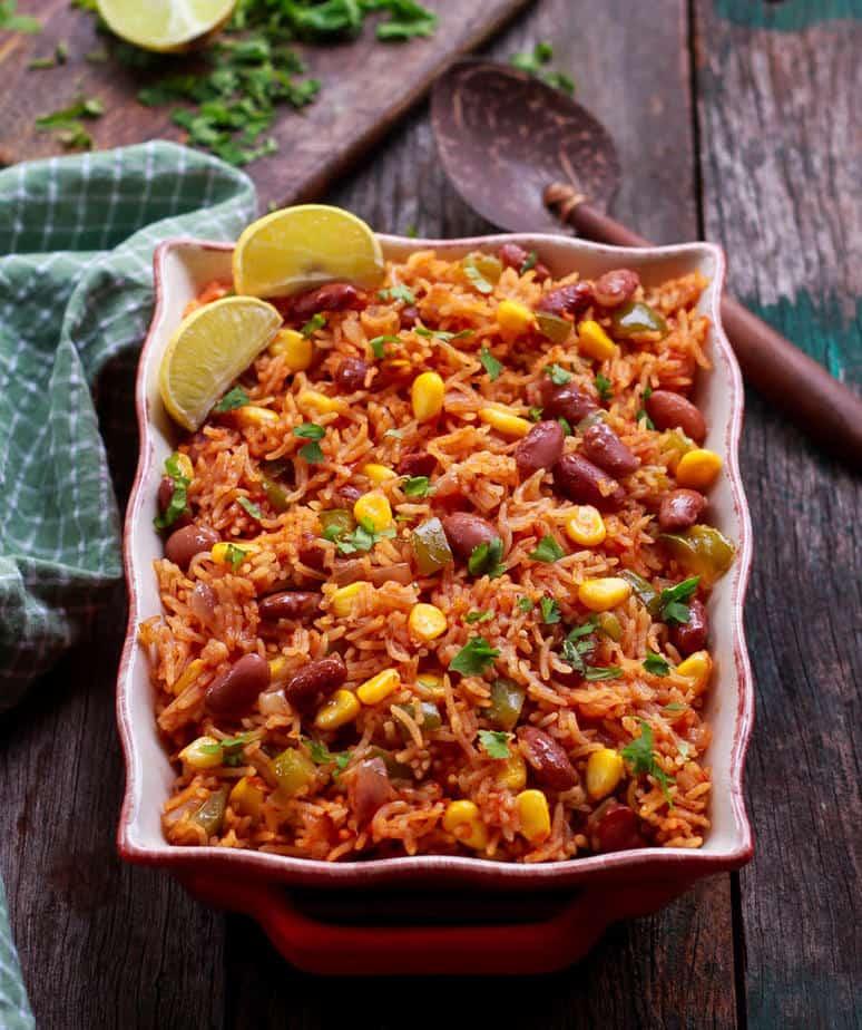 Easy Mexican Rice   Healthy Vegan Gluten-free Recipe