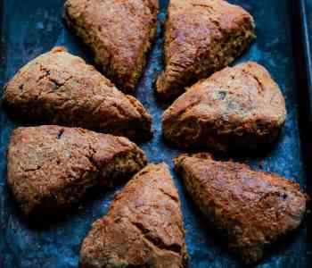 Banana Bread Scones | Easy Eggless Recipe