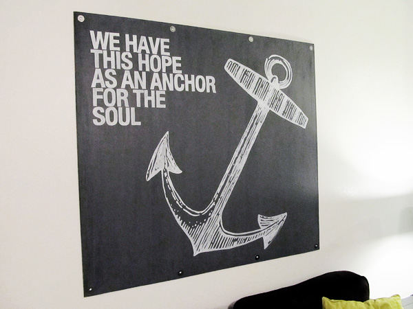 DIY Anchor Wall Art | The Good, The Bad, And The Truth