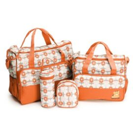 Baby Diaper Bag- Orange