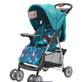 Foldable Baby Stroller-Turquoise blue