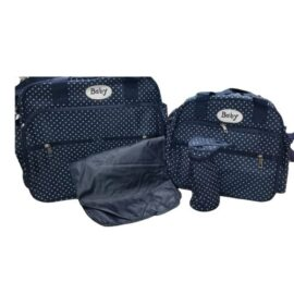 Blue 4 In 1 Diaper Bag