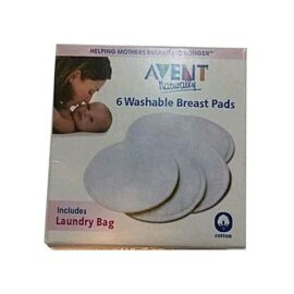 6 Washable Avent Breast Pads