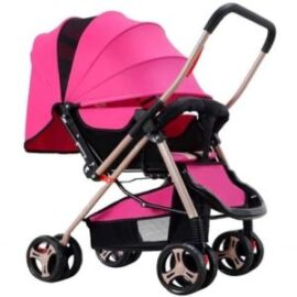 Pink Foldable push chair