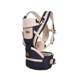 Baby Carrier With Hip Seat-blue