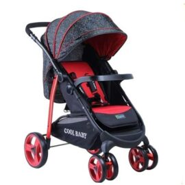 2 Way Baby Stroller - Red