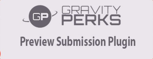 Gravity Perks Preview Submission Plugin
