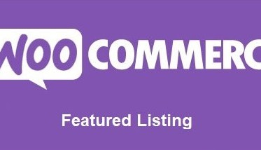 Featured Listing for WooCommerce