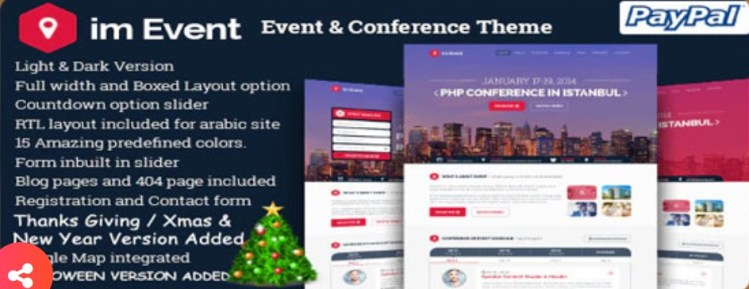 im Event Event and Conference WordPress Theme