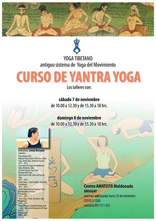 Curso de Yantra Yoga