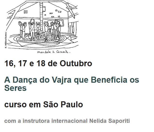 curso de la danza del vajra en brasil