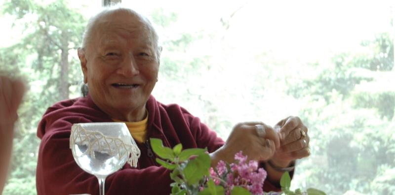Rinpoche en Tashigar