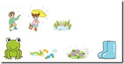 6月(梅雨・花・あじさい・カエル)のイラスト素材まとめ