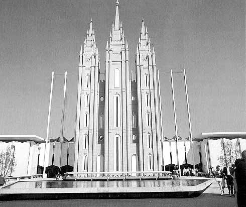 Mormon Temple, Salt Lake City, Utah