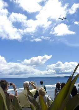 Raider 21 memorial ceremony Masako Watanabe/Pacific Daily News A B-52 Stratofortress flies over Adelup during the Raider 21 memorial ceremony at Adelup on July 20.