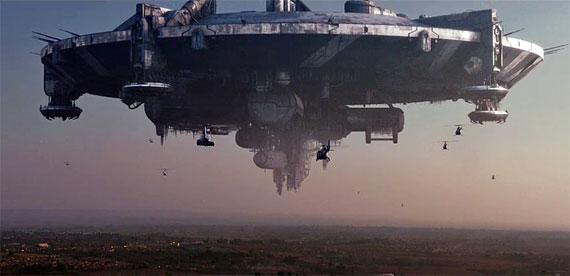 Distirct 0 Alien Spaceship
