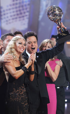 Donny Osmond on Dancing with the Stars (ABC/ADAM LARKEY)