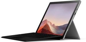"""ordenador para diseño gráfico 2021. Microsoft Surface Pro 7 - Ordenador portátil 2 en 1 de 12.3"""" (Intel Core i7-1065G7, 16GB RAM, 512GB SSD, Intel Graphics, Windows 10) Plata"""