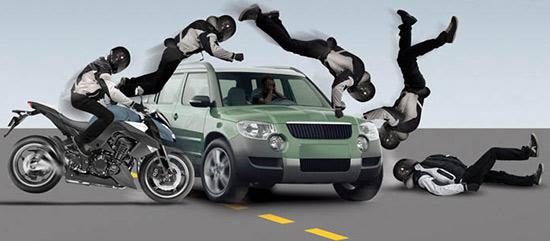 Chez Yamaha on pense à la sécurité et à l'airbag sur les motos