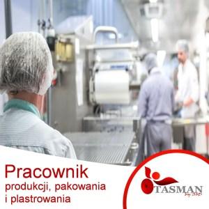 Pracownik produkcji, pakowania i plastrowania