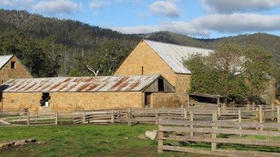 The farm barns were built by convicts in the 1820's.