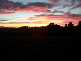 Sunrise over Adaminaby