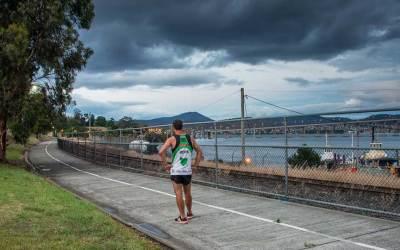 Hobart Bike Track