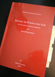 Spinoza: De brieven over God