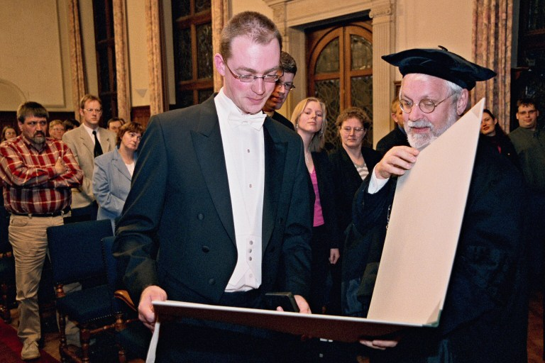 PhD from the University of Groningen, 18 March 2004