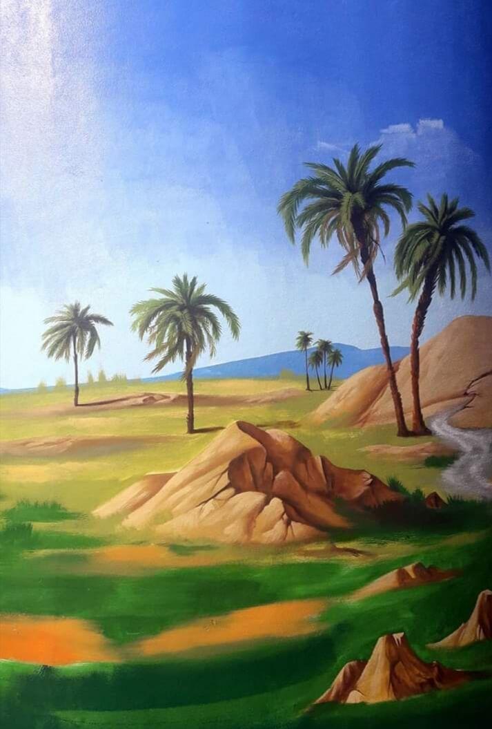 تنسيق حدائق القطيف