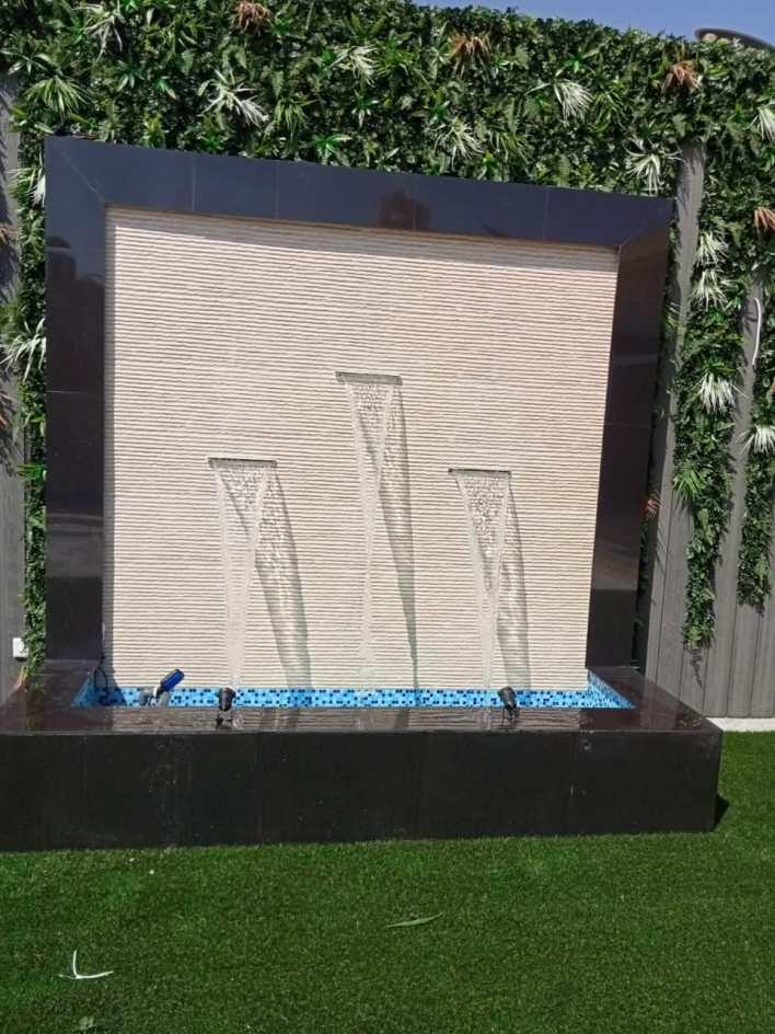 شركة تصميم شلالات بالرياض تقوم بتصميم وتركيب جميع أشكال الشلالات والنوافير بأفضل الأسعار