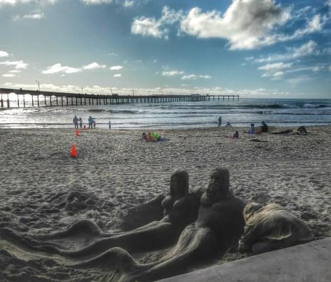 Merman got his mermaid, thanks to the artist