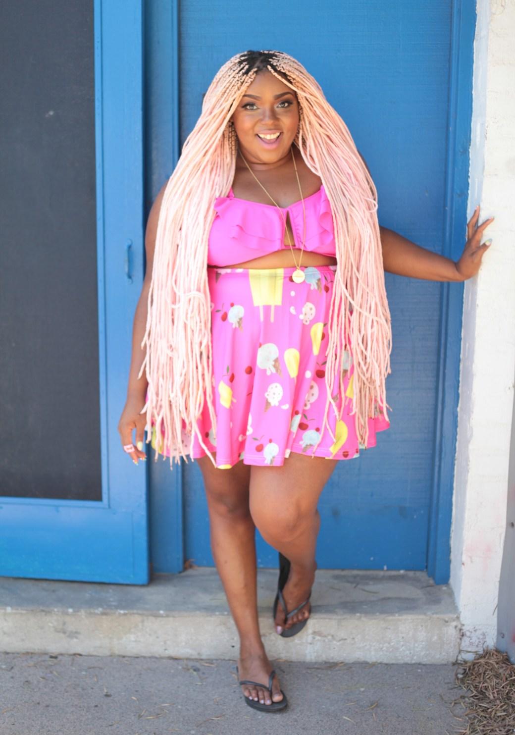 Amina Icecream Skirt