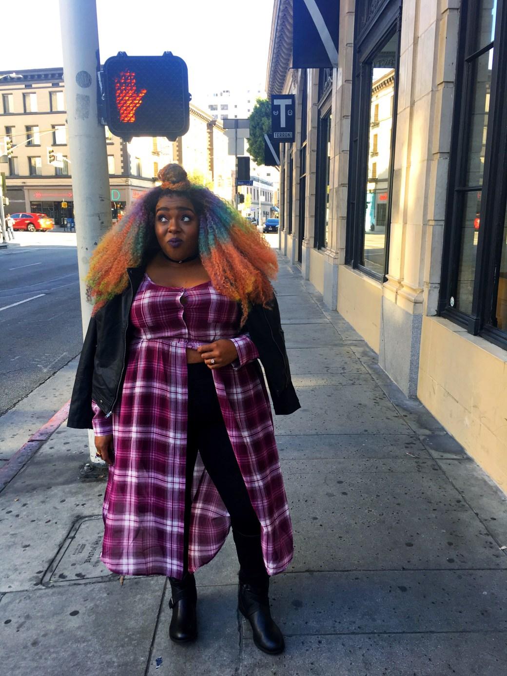 Amina plus size girls night out torrid