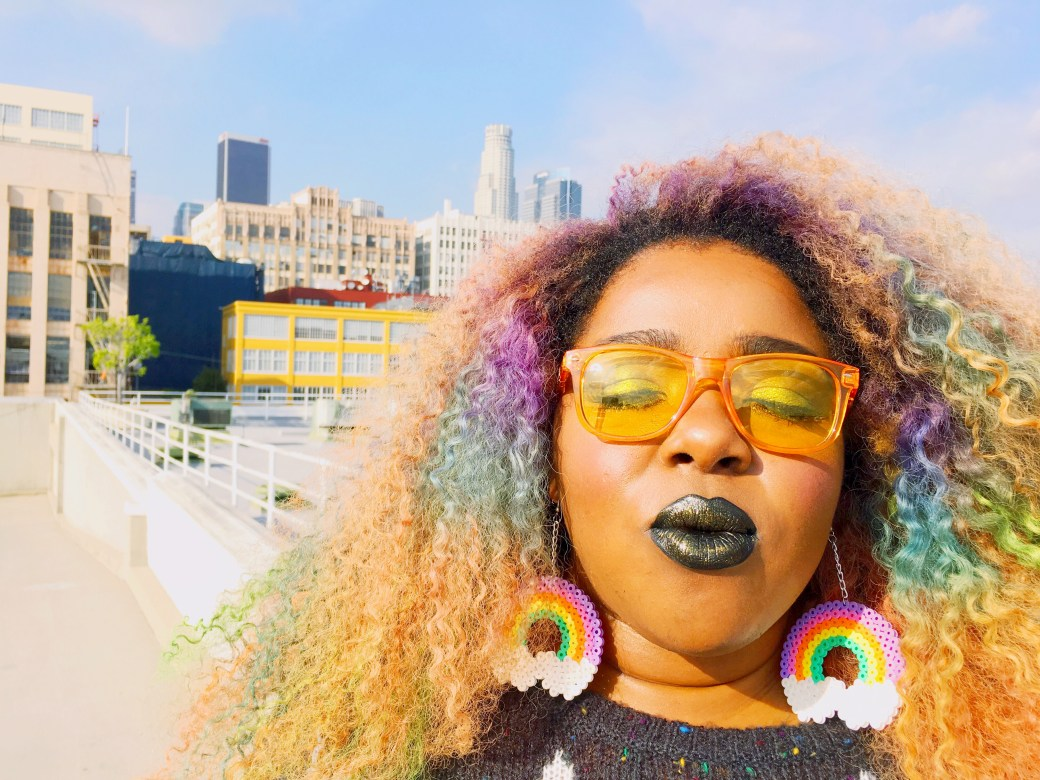 Amina Rainbow Optx Yellow Lenses