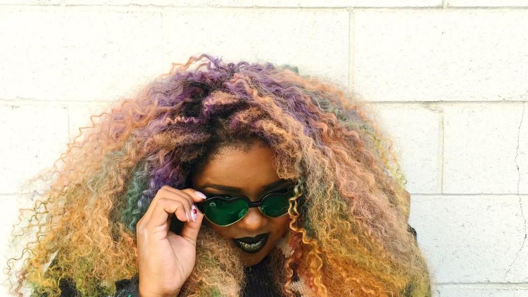 Amina Mucciolo Rainbow Optx Green Heart Frames