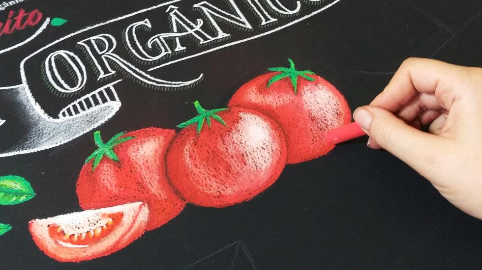Chalkboard - Lettering Em Giz