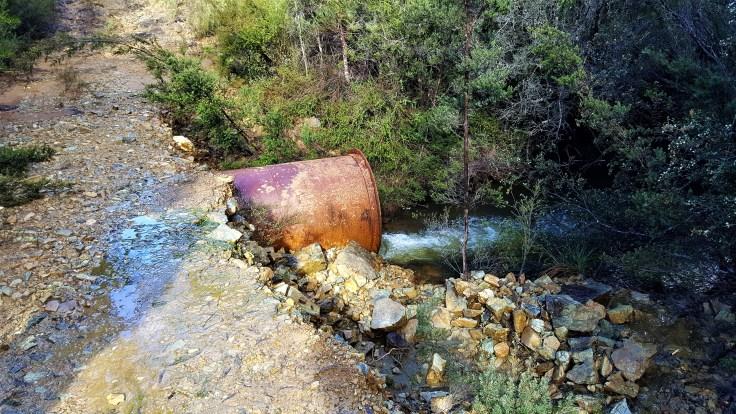Nikle creek crossing